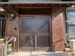 玄関引戸のリフォーム